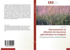 Décomposition et détection de structures géométriques en imagerie的封面