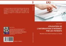 Обложка UTILISATION DE L''INFORMATION D''INTERNET PAR LES PATIENTS