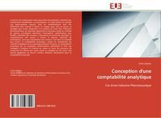 Couverture de Conception d'une comptabilité analytique