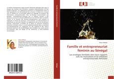 Bookcover of Famille et entrepreneuriat féminin au Sénégal