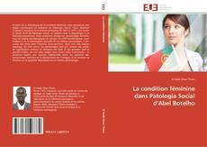 Capa do livro de La condition féminine dans Patologia Social d'Abel Botelho