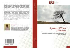 Copertina di Agadès, 1000 ans d'histoire