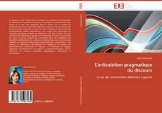 Capa do livro de L'articulation pragmatique du discours
