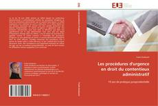 Couverture de Les procédures d'urgence en droit du contentieux administratif