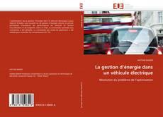 Couverture de La gestion d'énergie dans un véhicule électrique