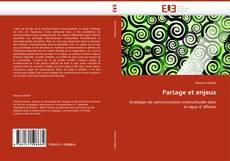 Partage et enjeux kitap kapağı