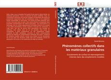 Capa do livro de Phénomènes collectifs dans les matériaux granulaires