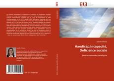 Buchcover von Handicap,Incapacité, Déficience sociale