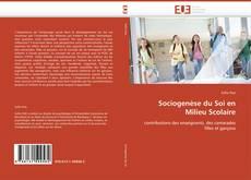 Couverture de Sociogenèse du Soi en Milieu Scolaire