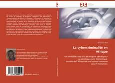 Copertina di La cybercriminalité en Afrique