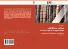 Borítókép a  Les bibliographies nationales rétrospectives - hoz