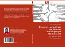 L''anamnèse du droit par une diagnose d''anthropologie fondamentale kitap kapağı