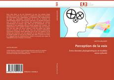 Bookcover of Perception de la voix