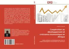 Couverture de Coopération au développement et croissance économique en Afrique
