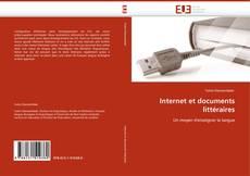Couverture de Internet et documents littéraires