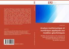 Portada del libro de Analyse mathématique et numérique appliquée aux modèles géochimiques