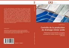 Bookcover of Contrôle de la production de drainage minier acide