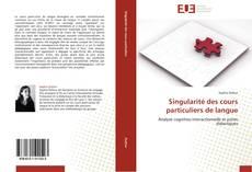 Borítókép a  Singularité des cours particuliers de langue - hoz
