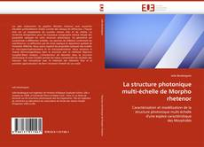 Capa do livro de La structure photonique multi-échelle de Morpho rhetenor