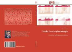 Bookcover of Stade 2 en implantologie