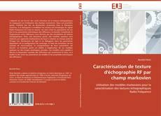 Caractérisation de texture d'échographie RF par champ markovien的封面