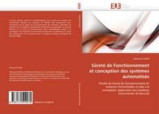 Couverture de Sûreté de Fonctionnement et conception des systèmes automatisés