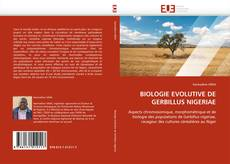 BIOLOGIE EVOLUTIVE DE GERBILLUS NIGERIAE的封面