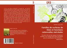 Bookcover of Familles de surfaces de Klein et fonctions rationnelles réel-étales