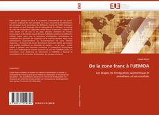 Bookcover of De la zone franc à l'UEMOA