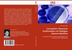 Buchcover von Conception d''énoncés multimodaux en Dialogue Homme Machine