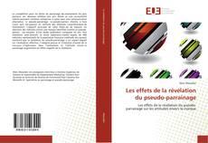 Bookcover of Les effets de la révélation du pseudo-parrainage