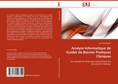 Capa do livro de Analyse Informatique de Guides de Bonnes Pratiques Cliniques