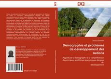 Capa do livro de Démographie et problèmes de développement des nations