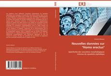 """Bookcover of Nouvelles données sur """"Homo erectus"""""""