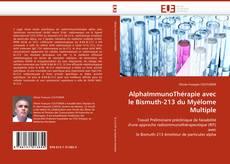 Bookcover of AlphaImmunoThérapie avec le Bismuth-213 du Myélome Multiple