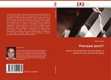Bookcover of Pourquoi punir?