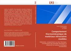Bookcover of Comportement thermomécanique de matériaux réfractaires modèles