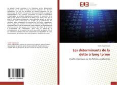 Обложка Les déterminants de la dette à long terme