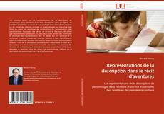 Bookcover of Représentations de la description dans le récit d''aventures