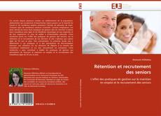 Capa do livro de Rétention et recrutement des seniors