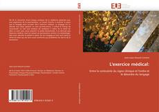 Bookcover of L'exercice médical: