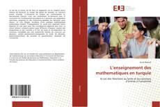 Portada del libro de L'enseignement des mathematiques en turquie