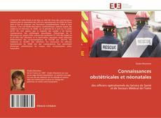 Обложка Connaissances obstétricales et néonatales