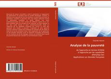 Bookcover of Analyse de la pauvreté