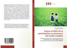 Couverture de Enjeux et Défis de la participation au processus des forêts modèles