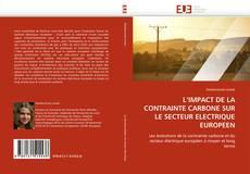 Couverture de L'IMPACT DE LA CONTRAINTE CARBONE SUR LE SECTEUR ELECTRIQUE EUROPEEN