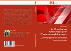 Portada del libro de La Modélisation Automatique pour l''Électronique de Puissance