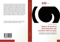 Copertina di Notion de limite et décimalisation des nombres réels au lycée