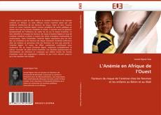 Copertina di L''Anémie en Afrique de l''Ouest