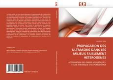 Buchcover von PROPAGATION DES ULTRASONS DANS LES MILIEUX FAIBLEMENT HETEROGENES